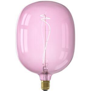 CALEX - LED Lamp - Avesta Quartz - E27 Fitting - Dimbaar - 4W - Warm Wit 2000K - Roze