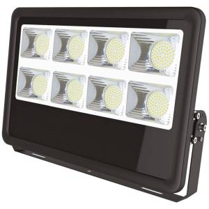 BES LED LED Bouwlamp 300 Watt - Leo - LED Schijnwerper - Helder/Koud Wit 6400K - Waterdicht IP65 - Mat Zwart