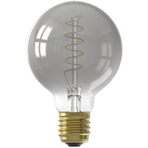 CALEX - LED Lamp - Globe - Filament G80 - E27 Fitting - Dimbaar - 4W - Warm Wit 2100K - Grijs