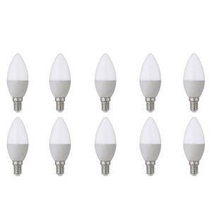 BES LED Voordeelpak LED Lamp 10 Pack - E14 Fitting - 4W - Helder/Koud Wit 6400K