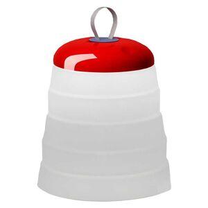 Foscarini Cri Cri tafellamp oplaadbaar LED rood