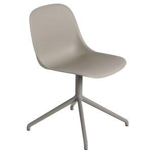 Muuto Fiber Side Swivel stoel grijs