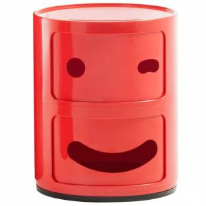 Kartell Componibili Smile kast C (2 comp.)