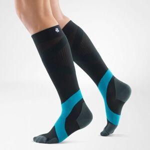 Bauerfeind Sports Compression Socks Ball & Racket (Per paar) - Zwart / Blauw