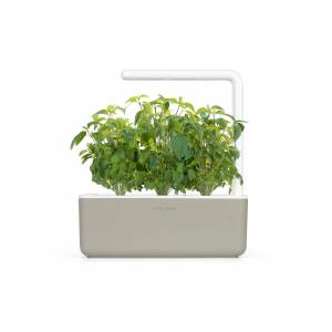 Clickandgrow Click & Grow Smart Garden 3 Beige (Incl 3 basilicum plantjes)