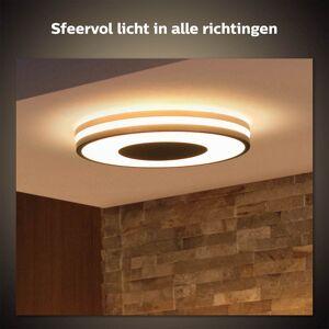 Philips Hue Being plafondlamp - White Ambiance - zwart (incl. DIM switch)