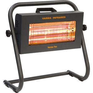 Varmatec infrarood verwarming met mobiele standaard FIRE2 1,5 kW