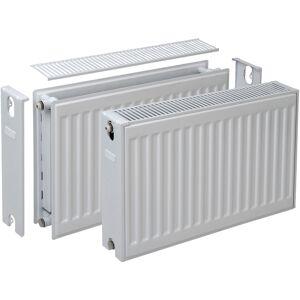 Plieger Compact radiator dubbel 600 x 600mm 1052W