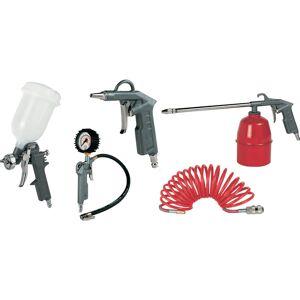 GAV pneumatische accessoireset 5-delig