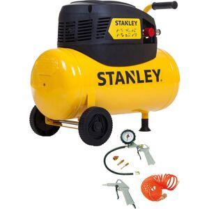 Stanley D200/8/24 compressor olievrij 24L