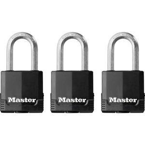 Master Lock excell®-hangslot 49 x 38 mm (3 Stuks)