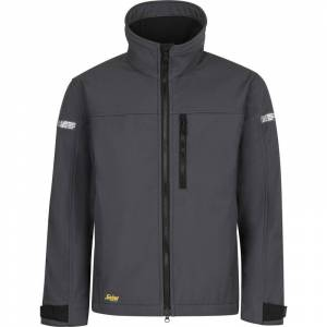 Snickers softshell jack 1200 S grijs
