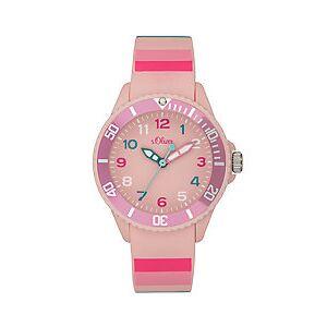 s.Oliver Horloge roze- -