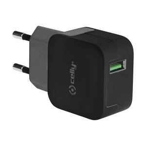Celly Thuislader Turbo 1 USB 2.4A