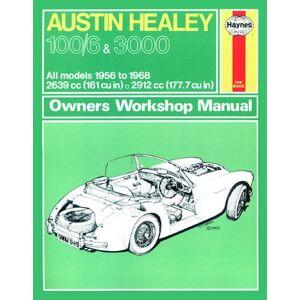 Haynes Werkplaatshandboek Austin Healey 100/6 &amp: 3000 (1956-1968) classic reprint