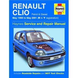 Haynes Werkplaatshandboek Renault Clio benzine &amp: diesel (Mei 1998 - Mei 2001)