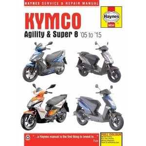 Kymco Agility (05-15) andSuper 8 (07-15) Scooters