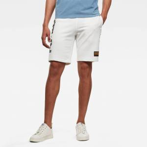 G-Star RAW Heren Olymp Relaxed Sweat Short Beige - XS S