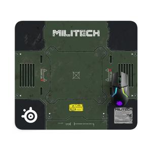 steelseries QcK Large Cyberpunk 2077 Militech