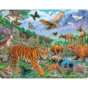 Puzzel LARSEN: Wilde Dieren in de Siberische Zomer (36)