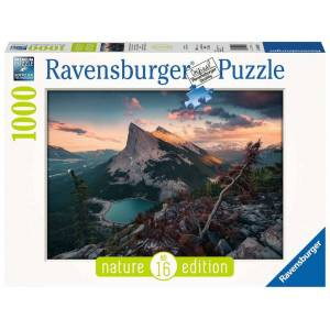 Ravensburger Nature Edition #16: 's Avonds in de Rocky Mountains - Puzzel (1008)
