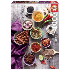Educa Assorted Spices - Puzzel (1000)