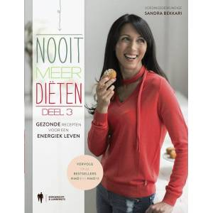 Kookboek Nooit meer diëten 3 - Sandra Bekkari