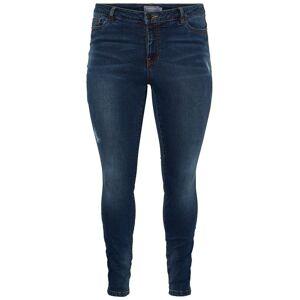 JUNAROSE Denim Jeans Dames Blauw