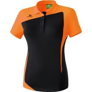 Erima Club 1900 Polo Dames - Zwart / Oranje