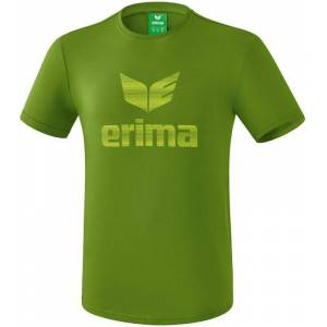 Erima Essential T-Shirt Heren - Twist Of Lime / Lime Pop