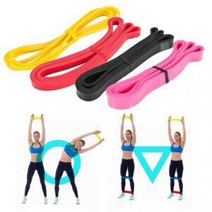 Gorilla Sports Voordeelset - weerstandsbanden - fitness elastiek - resistance band