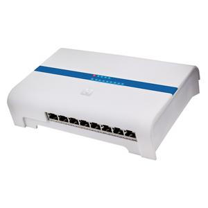 Hirschmann 8 poorts Gigabit switch met 4 PoE poorten CAS 8