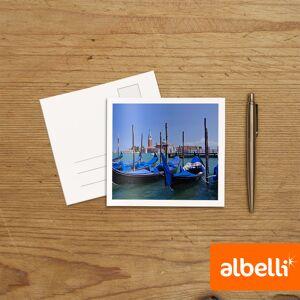 Albelli Foto Wenskaarten vierkant dubbel (11,5x11,5 cm) set van 12 stuks.