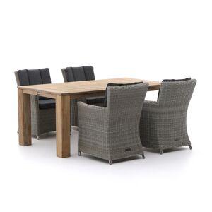 Intenso Furniture Intenso Adriano/ROUGH-X 180cm dining tuinset 5-delig - Laagste prijsgarantie! Bruin