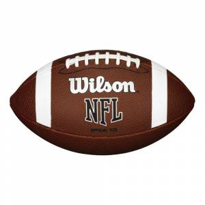 Wilson NFL Official Bulk American Football - one size