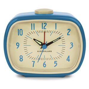 Kikkerland Retro wekker Kleur: blauw blauw
