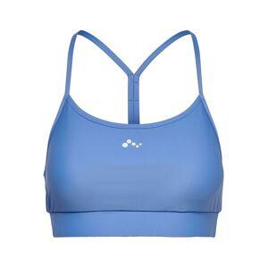 ONLY Effen Gekleurd Sport Bh Dames Blauw XS