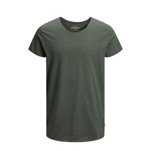 JACK & JONES Casual T-shirt Heren Green - M