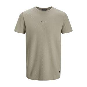 JACK & JONES Mesh T-shirt Heren Grijs - XXL