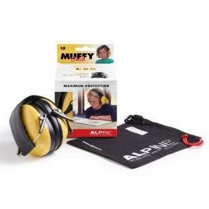 Alpine Muffy yellow gehoorbescherming
