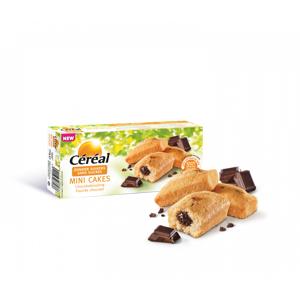 Céréal Mini Cakes Chocoladevulling