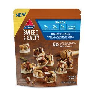 Atkins USA Sweet & Salty Honey Almond Vanilla Crunch Bites