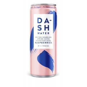 Dash Water Sparkling with Raspberries
