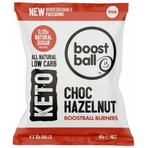 Boostball Burners Choc Hazelnut