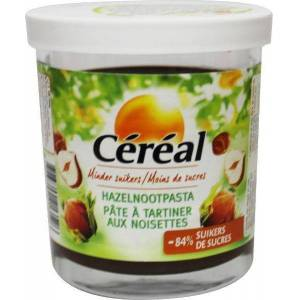 Céréal Hazelnootpasta