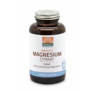 Mattisson Absolute magnesium citraat 200 mg