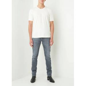 7 for all mankind Ronnie slim fit jeans met stretch - Grijs