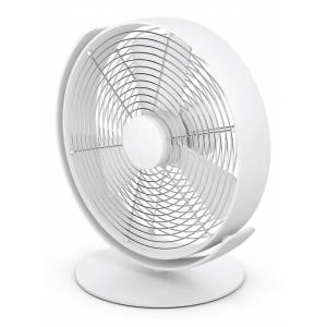 Stadler Form Tim tafelventilator, 29 cm hoog - Wit