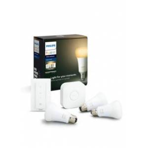 Philips Hue White Ambience starterkit E27 - Wit
