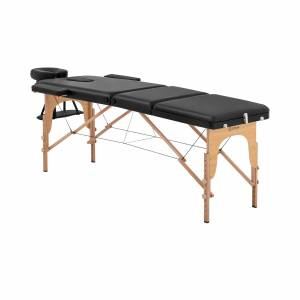 physa Massagetafel - behandeltafel - opvouwbaar - MARSEILLE BLACK 10040384